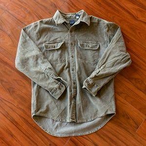 Vintage Gap Corduroy Button Up Shirt